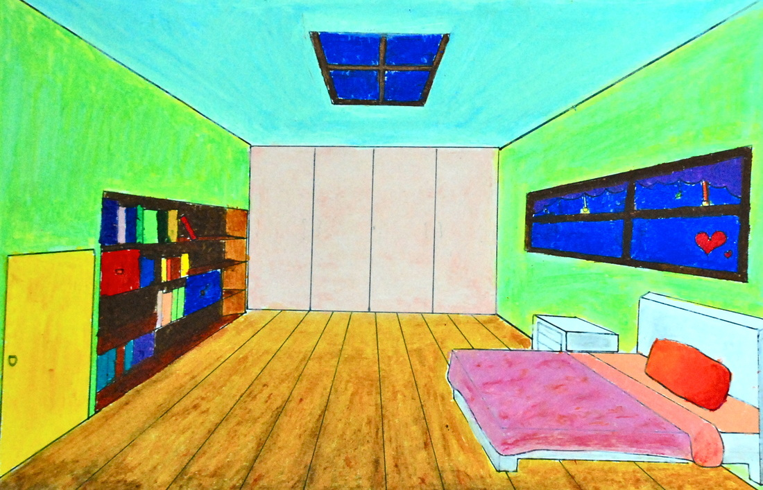 Van Gogh Style Bedroom Drop Dead Gorgeous Janie S Art